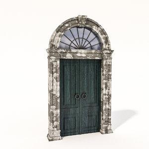 old door 3D