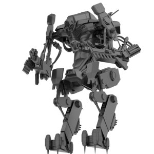 exosuit district 9 model