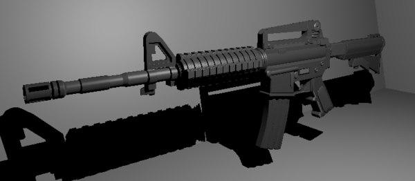 3D colt m4 model