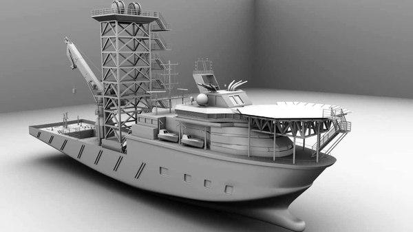 ship stl model