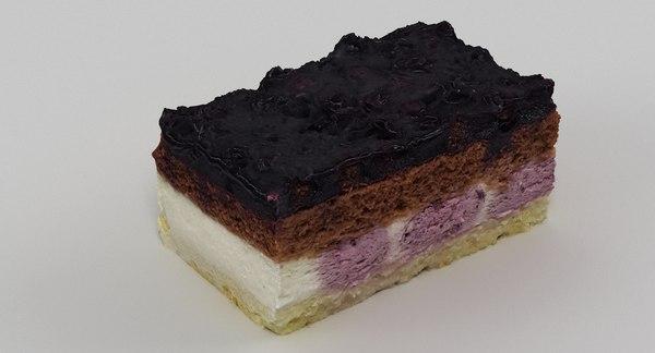 3D scan cake 012 model