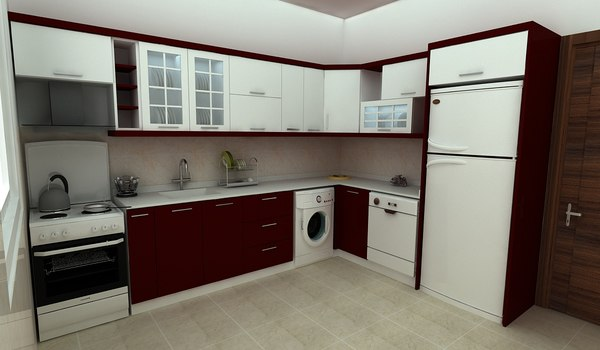 kitchen fr 3D model