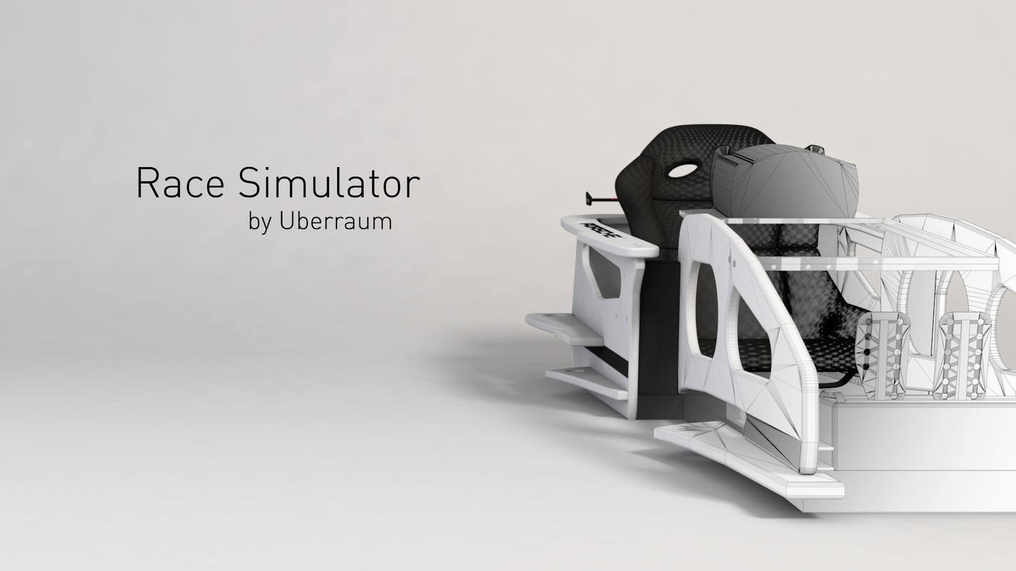 race simulator 3D model