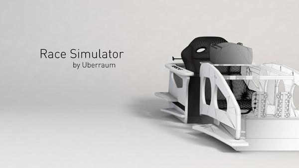 race simulator 3D model