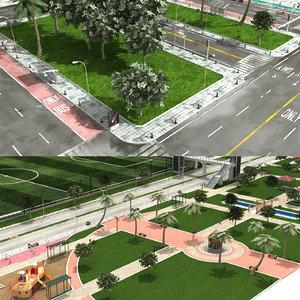 city element scene 2 model