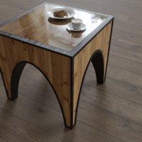 photorealistic coffee table fingerprints 3D model