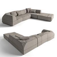 sofa italia 3D model