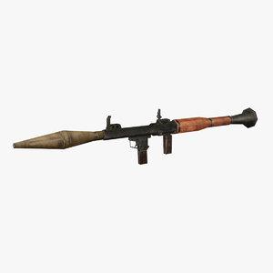 anti-tank grenade launcher model
