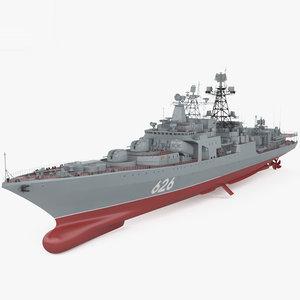 3D udaloy-class udaloy class model