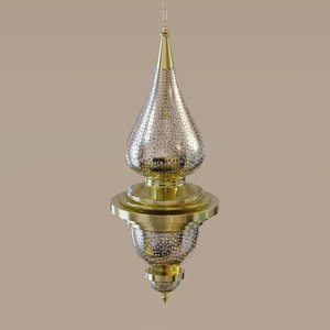 3D lamp designed model