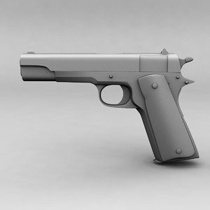 3D pistol 1911