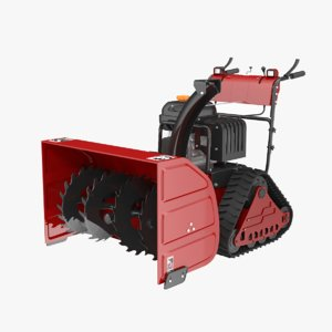 heavy duty snow blower 3D