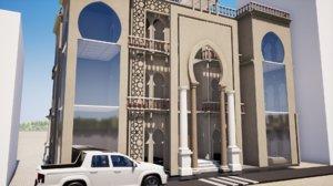 revit architecture lodge 3D model