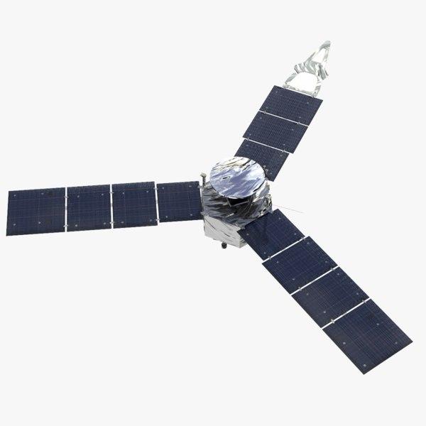juno space probes nasa 3D