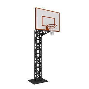 3D basketball backboard