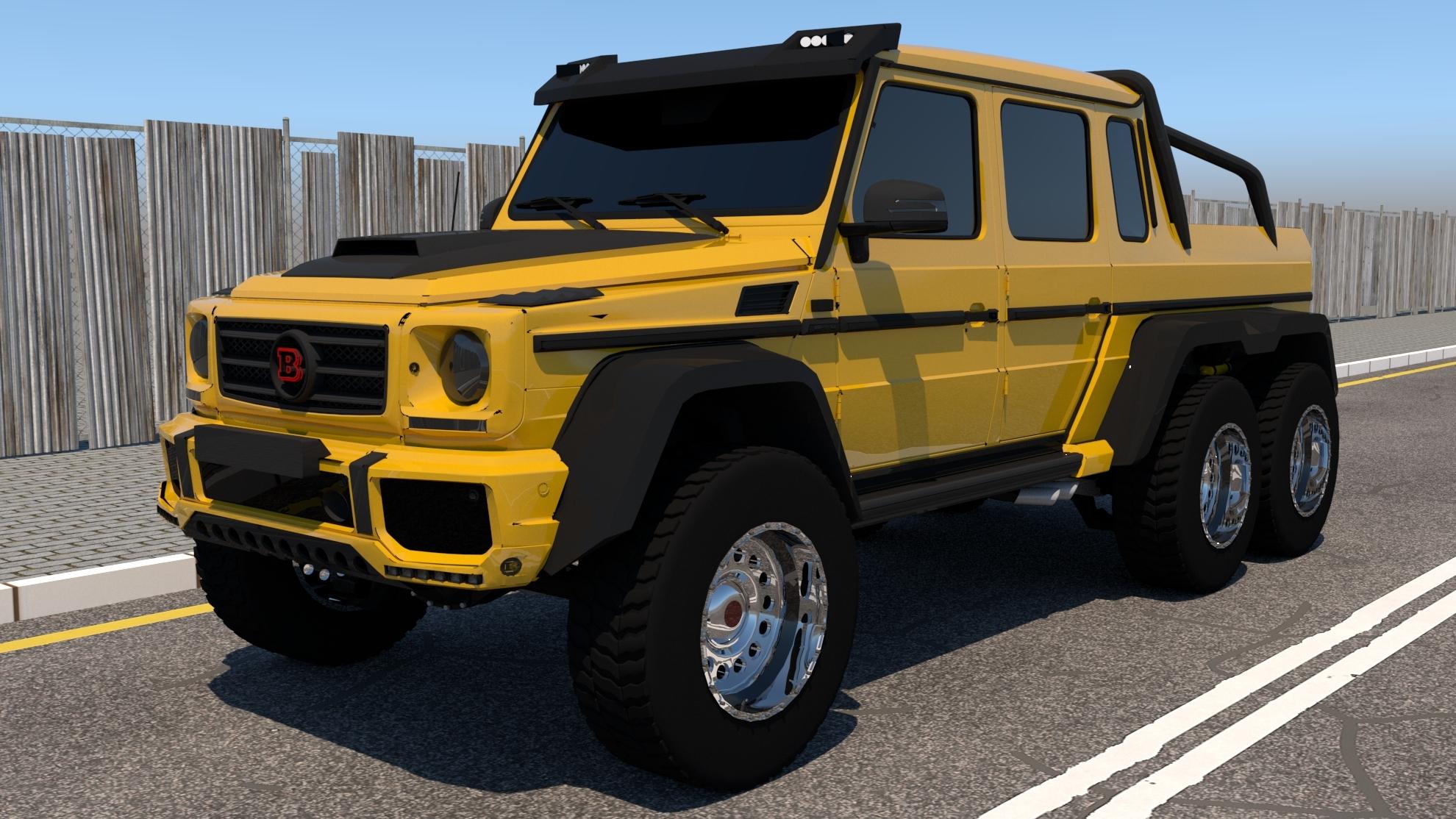 Mercedes Benz G63 >> Mercedes Benz G63 Amg 6x6