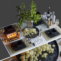 3D model tableware dishes