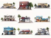 arab city pack 9 3D model