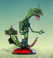 pokemon rayquaza 3D