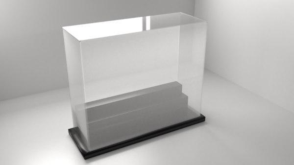 acrylic case 8 3D