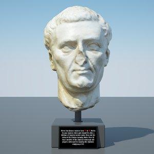 head nerva 3D model