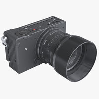 photoreal mirrorless camera sigma model