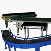 conveyors 3D model