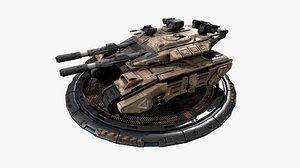vehicle - 3D model