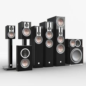 speaker dali opticon 3D