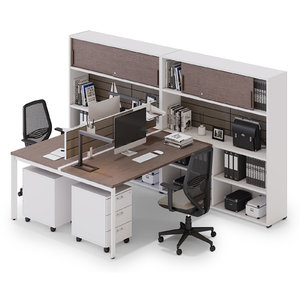 office workspace las 3D model