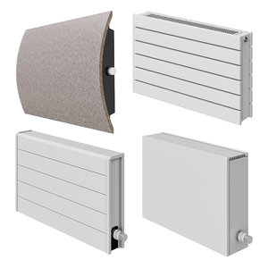 3D jaga wall radiators