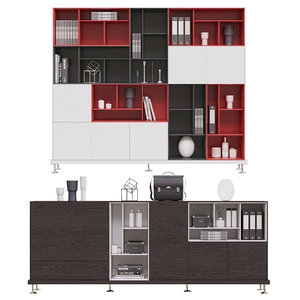 bookcase furniture 3D model