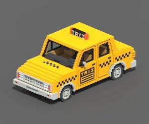 3D voxel taxi vox