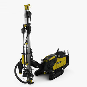 atlas copco d65 3D model