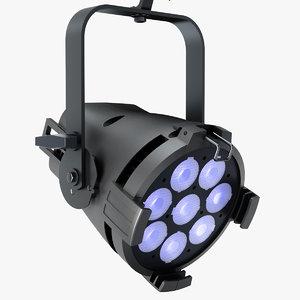 3d model colorsource par lights