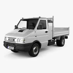 iveco daily single 3D model
