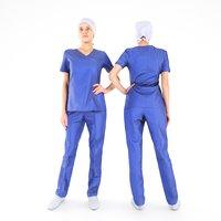 photogrammetry human uniform surgical 3D
