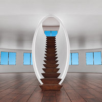 stairs design 3D model