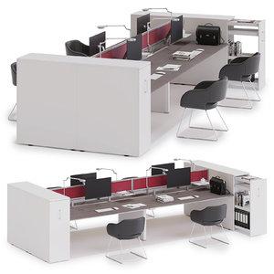 office workspace las model