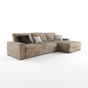 pixel sofa 3D model