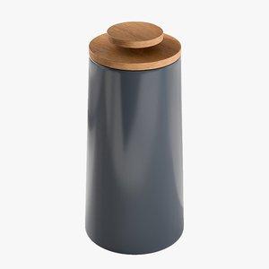 realistic storage jar stelton 3D model