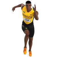 animations runner running model