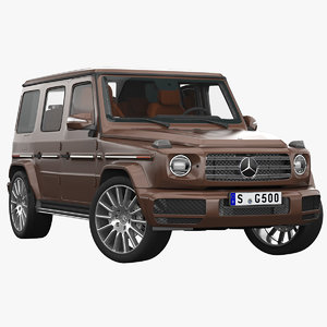 mercedes-benz g class interior 3D model