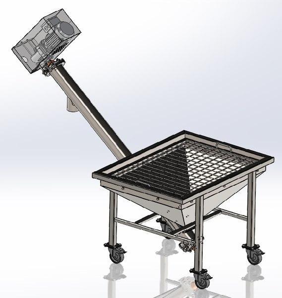 3D screw transporting motor