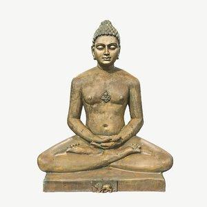 3D meditation mahaveer