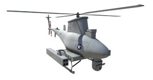 mq-8 scout uav drone 3D model