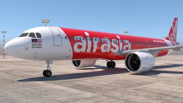 3D airasia asia