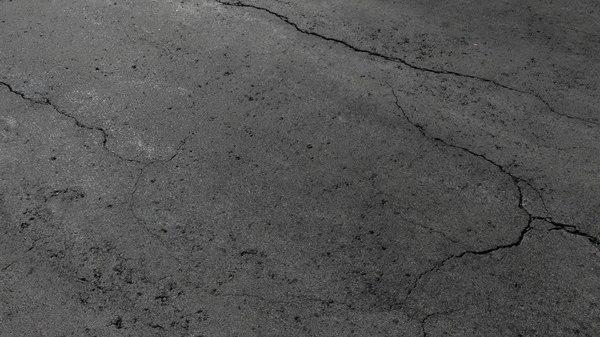 cracked asphalt 3D model