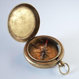 compass 3D model