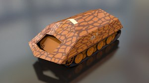 ramm tiger vk 4501 3D model